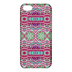 Colorful Seamless Background With Floral Elements Apple Iphone 5c Hardshell Case by Simbadda