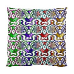 Digital Patterned Ornament Computer Graphic Standard Cushion Case (two Sides) by Simbadda