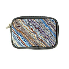 Fractal Waves Background Wallpaper Pattern Coin Purse by Simbadda