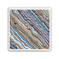 Fractal Waves Background Wallpaper Pattern Memory Card Reader (square)