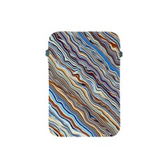 Fractal Waves Background Wallpaper Pattern Apple Ipad Mini Protective Soft Cases