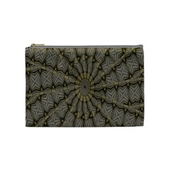 Abstract Image Showing Moiré Pattern Cosmetic Bag (medium)