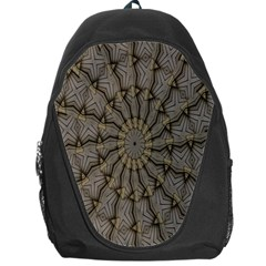 Abstract Image Showing Moiré Pattern Backpack Bag