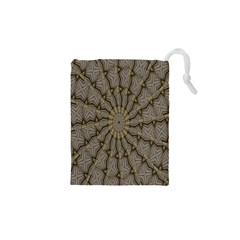 Abstract Image Showing Moiré Pattern Drawstring Pouches (xs)  by Simbadda