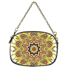 Abstract Geometric Seamless Ol Ckaleidoscope Pattern Chain Purses (two Sides)