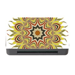 Abstract Geometric Seamless Ol Ckaleidoscope Pattern Memory Card Reader With Cf by Simbadda
