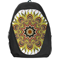 Abstract Geometric Seamless Ol Ckaleidoscope Pattern Backpack Bag by Simbadda