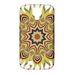 Abstract Geometric Seamless Ol Ckaleidoscope Pattern Samsung Galaxy S4 Classic Hardshell Case (pc+silicone) by Simbadda
