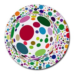 Color Ball Round Mousepads