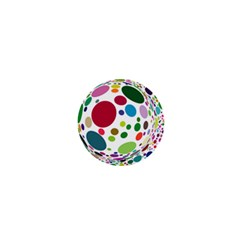 Color Ball 1  Mini Buttons