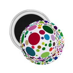 Color Ball 2.25  Magnets