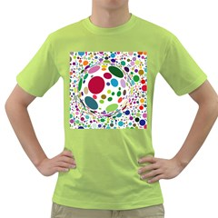 Color Ball Green T-Shirt