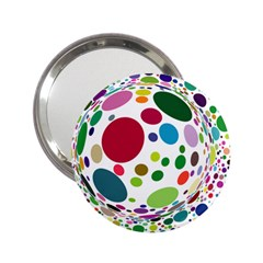 Color Ball 2 25  Handbag Mirrors by Mariart