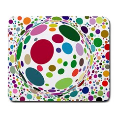 Color Ball Large Mousepads