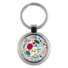 Color Ball Key Chains (Round)