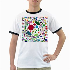 Color Ball Ringer T-Shirts