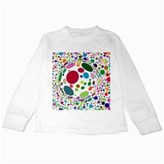 Color Ball Kids Long Sleeve T-shirts by Mariart