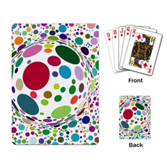 Color Ball Playing Card