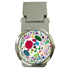 Color Ball Money Clip Watches