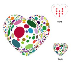 Color Ball Playing Cards (Heart)