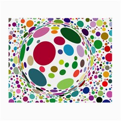 Color Ball Small Glasses Cloth (2-Side)