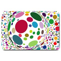 Color Ball Large Doormat