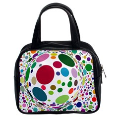 Color Ball Classic Handbags (2 Sides)