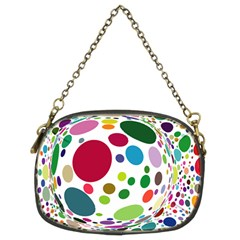 Color Ball Chain Purses (Two Sides)