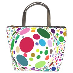 Color Ball Bucket Bags