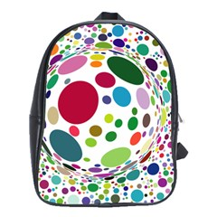 Color Ball School Bags(Large)