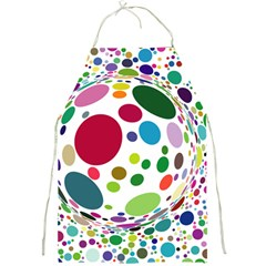 Color Ball Full Print Aprons