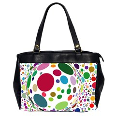 Color Ball Office Handbags (2 Sides)