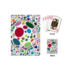 Color Ball Playing Cards (Mini)