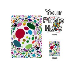 Color Ball Playing Cards 54 (Mini)