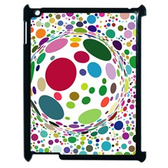 Color Ball Apple Ipad 2 Case (black) by Mariart
