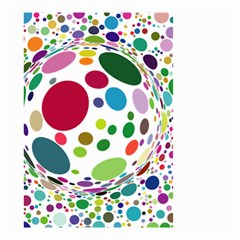 Color Ball Small Garden Flag (Two Sides)