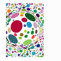Color Ball Large Garden Flag (Two Sides)