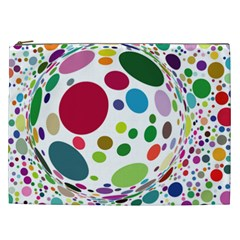 Color Ball Cosmetic Bag (XXL)