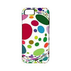 Color Ball Apple iPhone 5 Classic Hardshell Case (PC+Silicone)