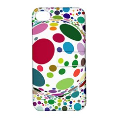 Color Ball Apple iPhone 4/4S Hardshell Case with Stand