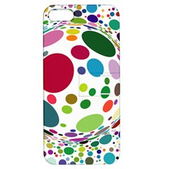 Color Ball Apple iPhone 5 Hardshell Case with Stand