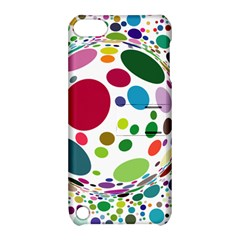 Color Ball Apple iPod Touch 5 Hardshell Case with Stand