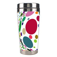 Color Ball Stainless Steel Travel Tumblers