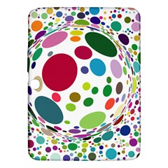 Color Ball Samsung Galaxy Tab 3 (10.1 ) P5200 Hardshell Case
