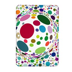 Color Ball Samsung Galaxy Tab 2 (10.1 ) P5100 Hardshell Case