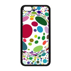 Color Ball Apple iPhone 5C Seamless Case (Black)