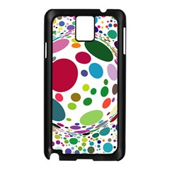 Color Ball Samsung Galaxy Note 3 N9005 Case (Black)