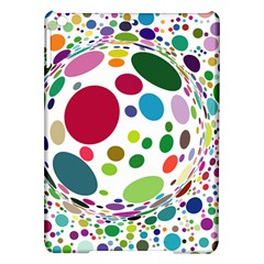 Color Ball iPad Air Hardshell Cases