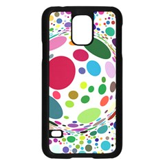 Color Ball Samsung Galaxy S5 Case (black) by Mariart