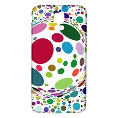 Color Ball Samsung Galaxy S5 Back Case (White)